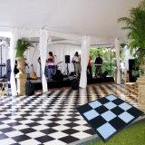 Группа шоу кафе свадьбы взаимосвязанных танцевальном зале Дома панели плитка