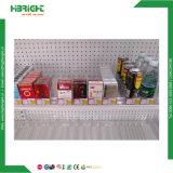 スーパーマーケットのプラスチック棚のディバイダのタバコの棚の補助機関車