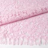 Spandex di nylon del tessuto del merletto del tricot di modo per il vestito da cerimonia nuziale