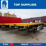 Behälter-halb Schlussteile des Titan-Fahrzeug--2 der Wellen-40FT für Verkauf