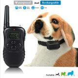 2 собак в 1 аккумулятор и водонепроницаемый 300 метров пульт дистанционного управления электрическим током Anti-Bark ПЭТ-Dog Cat обучение воротник с ЖК-дисплеем