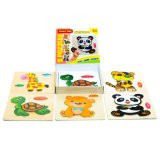 Hölzerne Puzzlespiele für Kleinkind-neues Set von 5 Kind-Puzzlespielen