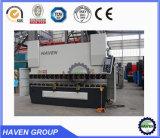 A melhor venda da máquina hidráulica de Bendig do aço WC67Y-125X2500 inoxidável