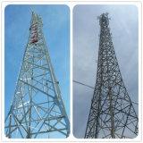 L'autonomie à l'appui de la communication de l'antenne radio à micro-ondes angulaire triangulaire pylône en treillis en acier galvanisé