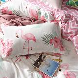 1500 Qualidade Egípcio impresso e Conjunto de folhas de microfibras escovado tampa da cama