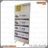 Perfil personalizado Mostrar textil bastidor de aluminio