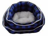 Het hoge Zachte Afgedrukte Bed van de Hond van de Vacht Quaulity (WY161004A/B)