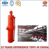 Tonelagem de alta pressão do cilindro do óleo hidráulico telescópico