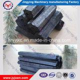 Carbone di legna esagonale lungo del BBQ della mattonella della segatura del legno duro di tempo di combustione della fabbrica di Jingying
