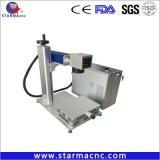 Trasporto libero tavolo poco costoso del Engraver del laser del Portable di consegna di 7 giorni, macchina della marcatura del laser