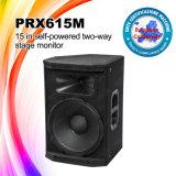 Audio profesional Prx615m rectángulo del altavoz del monitor de la gama completa de 15 pulgadas