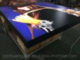 Black Color Fabric Extrusion LED Light Box 1600*H1632mm