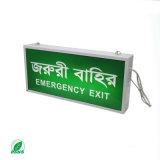 indicatore luminoso ricaricabile del segno dell'uscita dell'indicatore luminoso Emergency di 30PCS LED