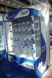 商業冷却装置清涼飲料の表示開いた前部冷凍