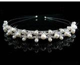 Cabelo de cristal dos acessórios da jóia do Rhinestone do amor das meninas do coração do Headband da coroa da tiara