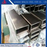 Rostfreies rechteckiges Stahlrohr Tp321 mit Qualität