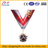 Medalla de metal dorado deportivo personalizado