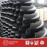 Encaixe de tubulação de aço do cotovelo do cotovelo do aço de carbono de Asni