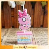 주문을 받아서 만들 도매 창조적인 귀여운 니스 파라핀 만화 생일 초