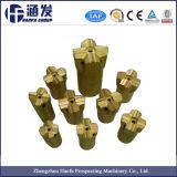 Piedra dura Cruz cónico de perforación de rocas poco con un tamaño de 35mm-76mm