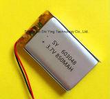 De Batterij 850mAh van het Lithium van het Polymeer van de fabriek 3.7V voor het Kosmetische Instrument van het Achterlicht van de Auto van de Spreker Bluetooth