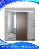Самомоднейшая нутряная алюминиевая древесина сползая оборудование двери амбара