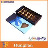 Boîte-cadeau de papier de empaquetage de chocolat de luxe simple de sucrerie