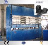 Alta impronta efficiente del pneumatico che cura pressa con il sistema di controllo del PLC