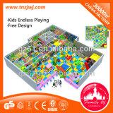 Les enfants labyrinthe doux pour la vente d'équipement de terrain de jeux intérieure