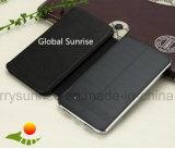 Le meilleur côté duel imperméable à l'eau en gros de vente 10000mAh d'énergie solaire d'USB