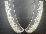 형식 분리가능한 모조 다이아몬드 진주 고리 면 직물 구슬 복장 부속품