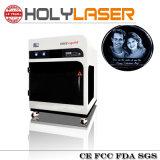 máquina de gravação a laser 3D ou 2D fotos dentro da gravura a laser Santo preço de fábrica