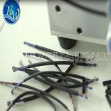 Máquina computarizada da estaca e de descascamento do fio com fio Sheathed liso