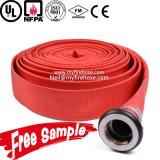 1 pulgada de riego de fuego lienzo flexible de la manguera de la PU de tuberías