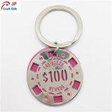 Metallo creativo Keychain di colore rosa della vernice di alta qualità