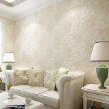 Venda de papel de parede a parede de PVC para a sala de estar