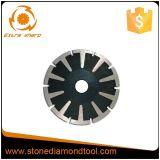 A Circular Seco/Úmido concreto do segmento Diamante de Mármore a lâmina da serra