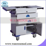 ABS Hospital Medical Cart mit Five Drawers