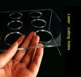 6 trous de la crème glacée présentoir acrylique