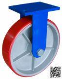 12 Zoll Extraörtlich festgelegte HochleistungspU auf Eisen-Fußrolle