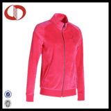 Новейшие разработки женщин велюровой тесьмой моды куртка от производителя