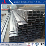 Tubo d'acciaio galvanizzato caldo del ferro rettangolare a resina epossidica della vernice di ERW