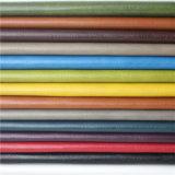 Nuevo Leatherette arrugado sin solvente de la PU de los muebles del alto rendimiento