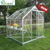 Solid Polycarbonate Clear Greenhouse Single, porta deslizante E606