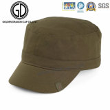 2016 High Quality Washed Denim Army Hats Chapéu militar com cinto de couro