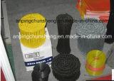 PVC-überzogene doppelte Regelkreis-Draht-Gleichheit