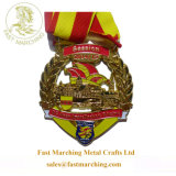 SportsのためのカスタムCarved Medallion Masonic Embossed Metal Medals