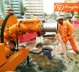 Pompe ad acqua autoadescanti mobili del motore diesel per l'emergenza