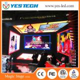 Indicador programável da imagem vídeo do diodo emissor de luz da cor cheia