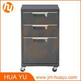 Шкаф для картотеки мяты металла ящиков офисной мебели 3 подвижной